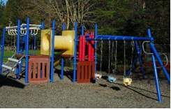 Old play area before renovation